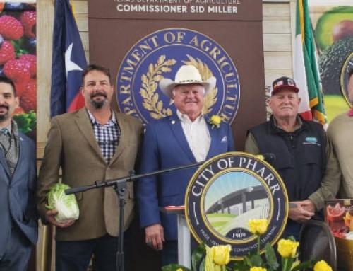 Sid Miller Sworn in as Texas Ag Commissioner at Pharr International Bridge