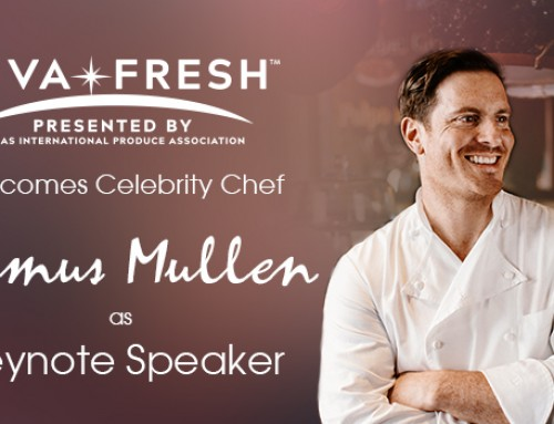 Celebrity Chef Seamus Mullen to Speak about the Transformative Power of Produce at Viva Fresh Expo's Keynote Luncheon