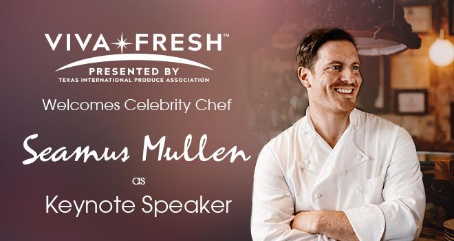 Celebrity Chef Seamus Mullen To Speak About The